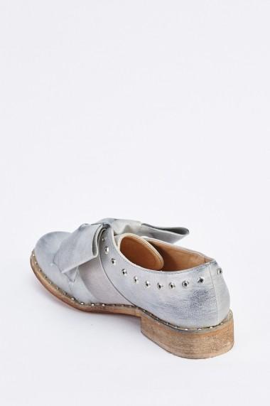Pantofi 633893-254843 Argintiu