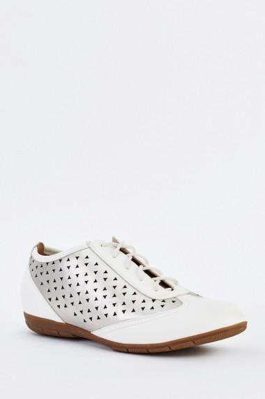 Pantofi 633541-254284 Alb