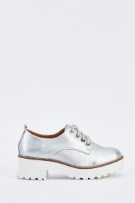 Обувки 637903-262843 сребристо