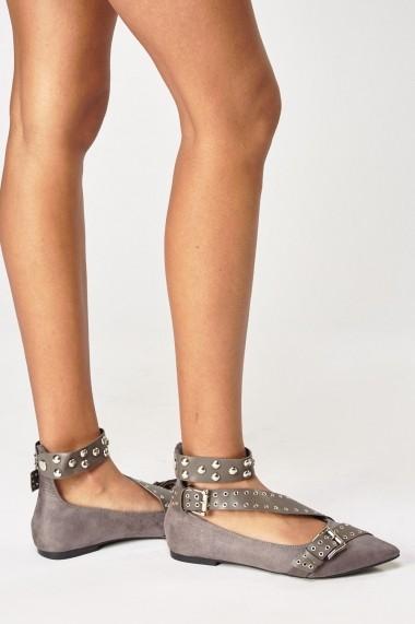 Pantofi 627302-242075 Negru