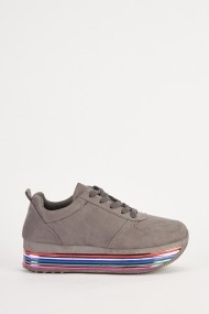 Pantofi eOutlet 654025-295195-154898 Gri - els