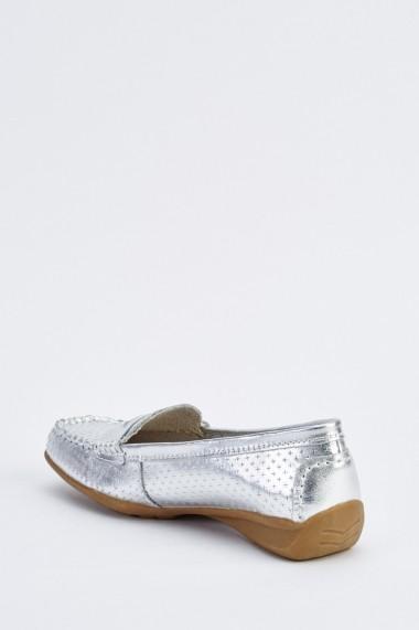 Mocasini 633857-254767 Argintiu