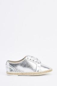 Espadrile 635158-257245 Argintiu