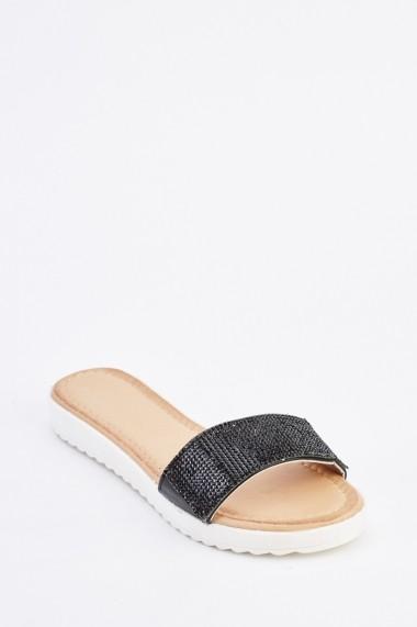 Papuci 635167-257259 Negru
