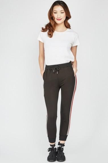 Pantaloni sport eOutlet 653963-295084-2125 Negru