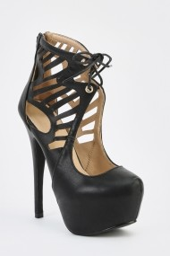 Pantofi cu toc 626847-241247 Negru