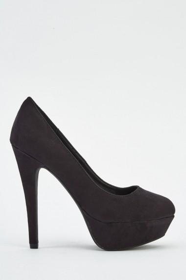 Pantofi cu toc 625494-240827 Gri-bej - els