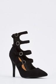 Pantofi cu toc 636716-260355 Negru