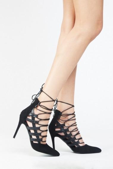 Pantofi cu toc 636518-259932 Bej
