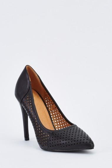 Pantofi cu toc 636168-259292 Negru - els