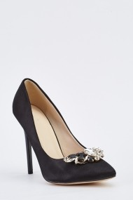 Pantofi cu toc 635452-257882 Negru