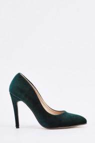 Обувки на ток 635441-257864 зелено