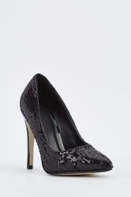 Pantofi cu toc 635439-257858 Negru