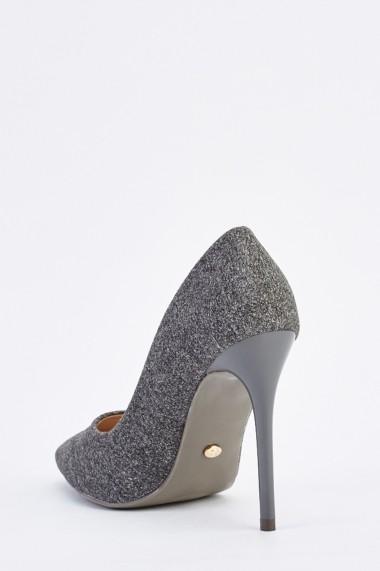 Pantofi cu toc 635147-257220 Gri