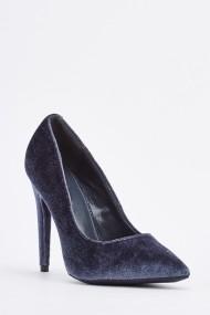 Pantofi cu toc 634965-256905 Gri