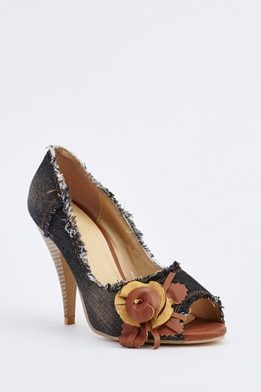 Pantofi cu toc 632986-253262 Negru