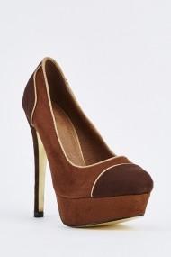 Pantofi cu toc 632963-253226 Maro - els