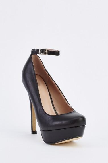 Pantofi cu toc 632994-253278 Negru - els