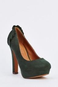 Pantofi cu toc 632728-252812 Verde