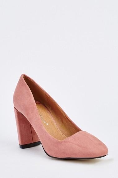Pantofi cu toc 632250-251802 Roz