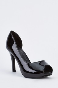 Pantofi cu toc 632236-251762 Negru