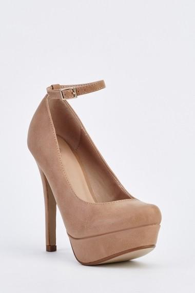 Pantofi cu toc 631951-251250 Bej