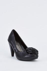 Pantofi cu toc 631932-251227 Negru