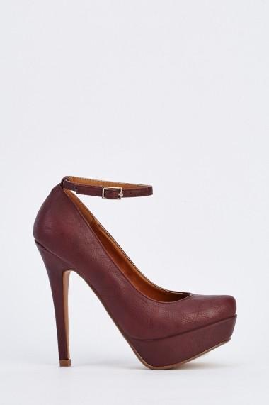 Pantofi cu toc 631934-251229 Mov