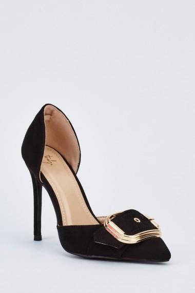 Pantofi cu toc 631456-250290 Negru