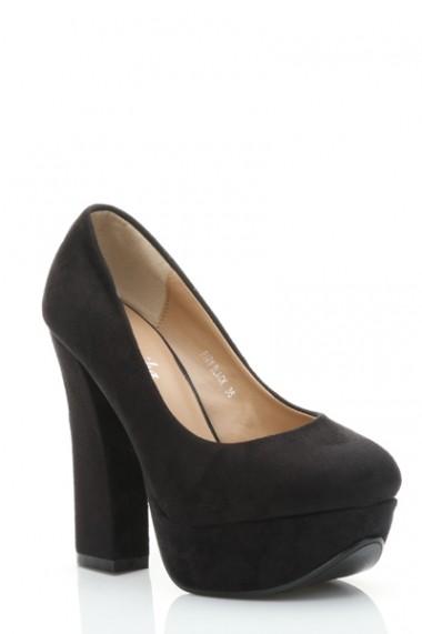 Pantofi cu toc 26319-78948 Bleumarin