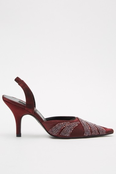 Pantofi cu toc eOutlet 652871-293149-272 Grena