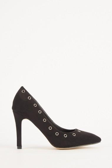 Pantofi cu toc eOutlet 653245-293755-154898 Negru