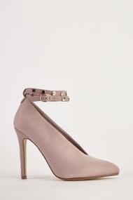 Pantofi cu toc eOutlet 653783-294686-270 Roz - els