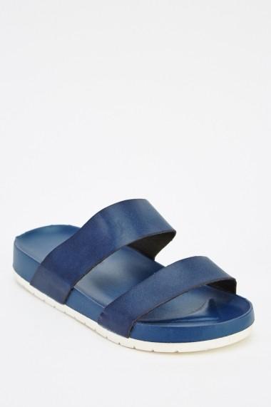 Sandale plate 626599-240858 Bleumarin