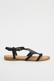 Sandale plate 626233-240125 Negru