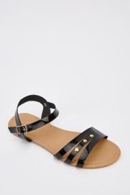 Sandale plate 628853-245090 Negru