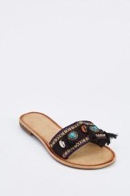 Sandale plate 636713-260351 Negru