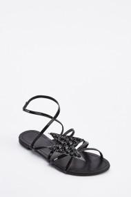 Sandale plate 638891-264747 Negru