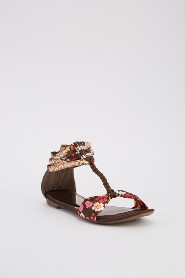 Sandale plate 638308-263646 Maro