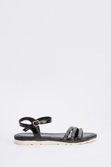 Sandale plate 638305-263638 Negru