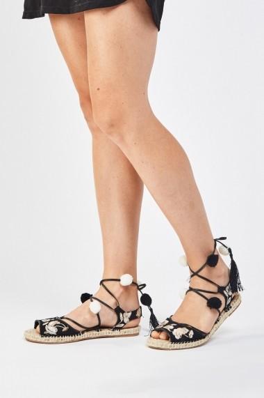 Sandale plate 637939-262906 Roz