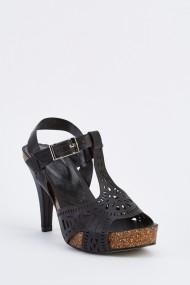 Sandale cu toc 632761-252859 Negru