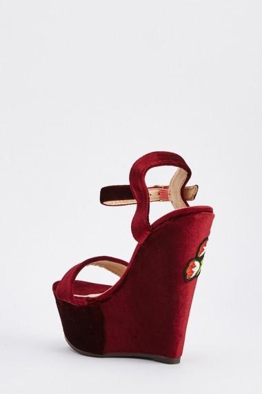 Sandale cu toc 638591-264173 Negru