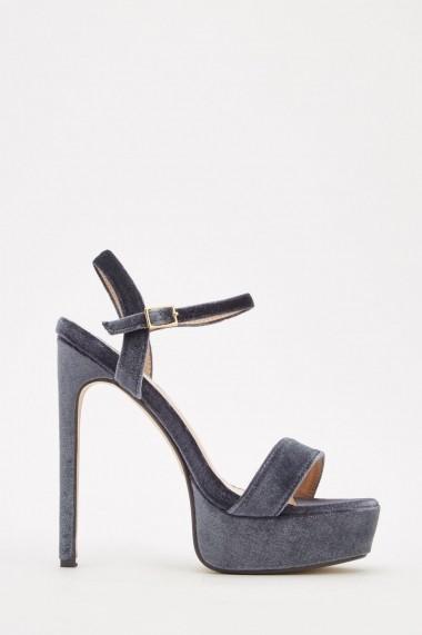 Sandale cu toc eOutlet 652285-292069-270 Verde