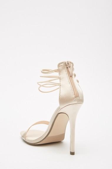 Sandale cu toc eOutlet 653124-293551-274 Rosu