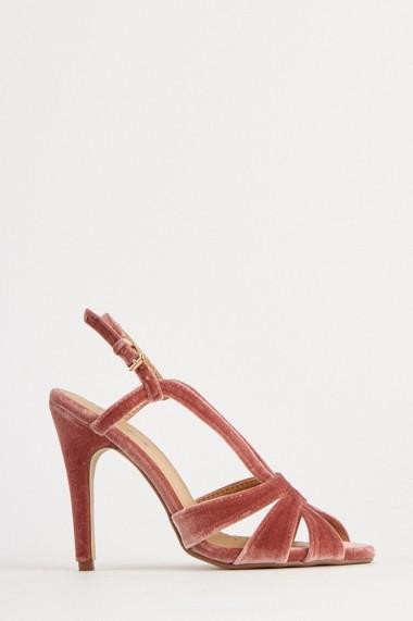 Sandale cu toc eOutlet 655110-296933-154898 Roz