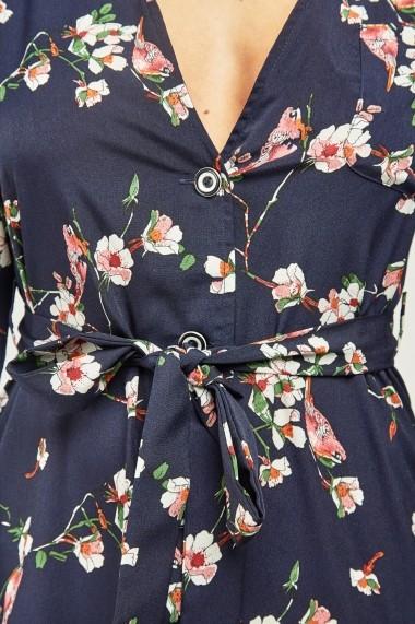 Rochie scurta de zi eOutlet 654898-296598-153681 Florala