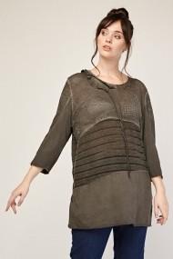 Bluza Plus Size eOutlet 651940-291322-153848 Gri