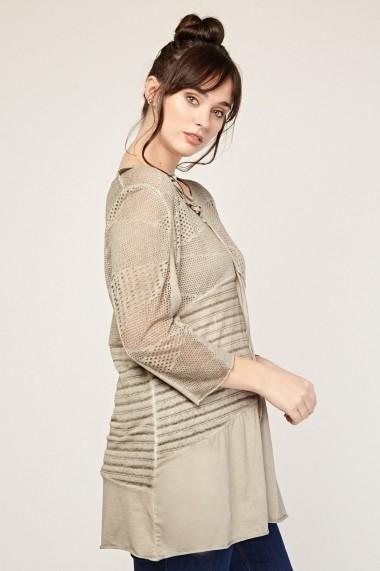 Bluza Plus Size eOutlet 651940-291323-151803 Roz