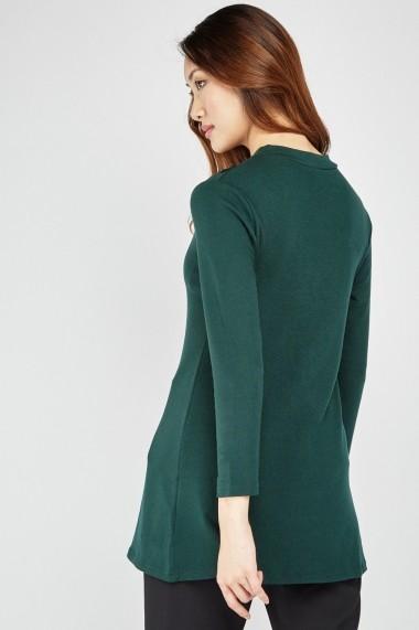 Bluza eOutlet 653928-295012-2124 Verde